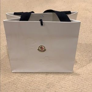 Moncler Paper Bag